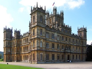 Highclere Castle plays the role of the titular house on the hit period piece.
